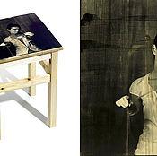 Для дома и интерьера handmade. Livemaster - original item the photo on the stool. Handmade.
