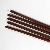 Сувениры и подарки ручной работы. Ярмарка Мастеров - ручная работа свечи коричневые. Handmade.