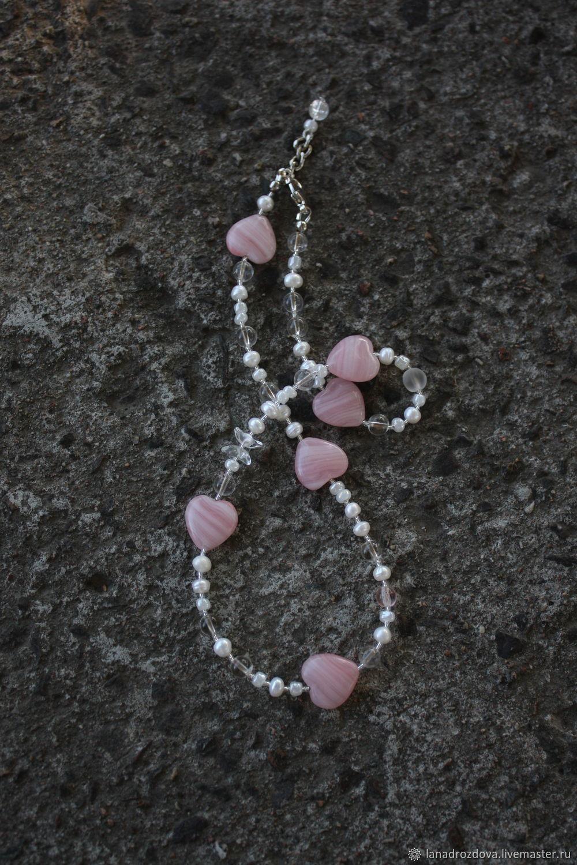 Chalker N2. Pearl. pink, Chokers, Almaty,  Фото №1