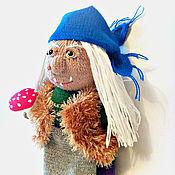 Куклы и игрушки handmade. Livemaster - original item Baba Yaga. A knitted doll.Character tales.. Handmade.
