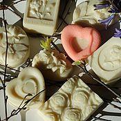 Косметика ручной работы. Ярмарка Мастеров - ручная работа Белые цветы - натуральное мыло с ароматом ландыша. Handmade.