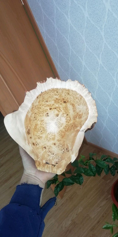 Конфетница из капа березы с естественной наружной фактурой, Конфетницы, Месягутово,  Фото №1