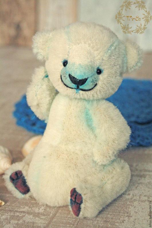 Мишки Тедди ручной работы. Ярмарка Мастеров - ручная работа. Купить Полярный Мих. Handmade. Белый, миник, подарок девушке