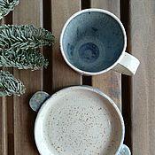 Сервизы ручной работы. Ярмарка Мастеров - ручная работа Мороз в горах. Handmade.