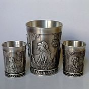Винтаж handmade. Livemaster - original item Vintage utensils tin. Set on