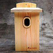 Для дома и интерьера handmade. Livemaster - original item Birdhouse for the birds in Art optimum the right size. Handmade.