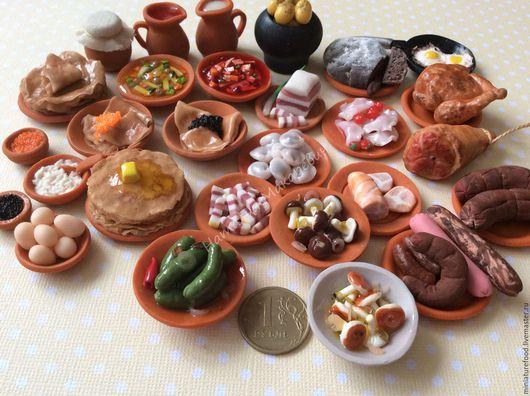 Кукольная еда.Фото еды для кукол. Миниатюра ручной работы 1:12 и 1:6. Ручная работа на Ярмарке Мастеров. Фото кукольной еды в деревенском стиле