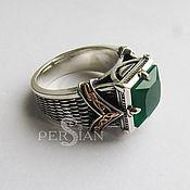Украшения handmade. Livemaster - original item Silver men`s ring with agate. Handmade.