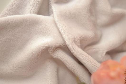 Куклы и игрушки ручной работы. Ярмарка Мастеров - ручная работа. Купить ПЛЮШ-НОВ МОЛОЧНЫЙ (50х50 см; коротковорсный). Handmade.