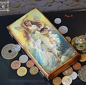Фен-шуй и эзотерика handmade. Livemaster - original item Box money Fortuna the goddess of fortune, gifts for Feng Shui. Handmade.