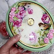 Для дома и интерьера handmade. Livemaster - original item Jewelry box decoupage Rose garden. Handmade.