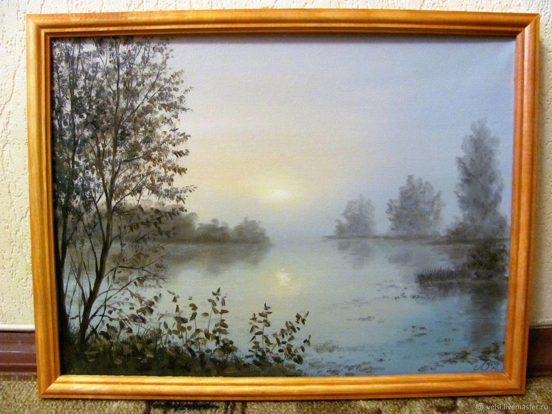 Туманный рассвет, Картины, Волгодонск,  Фото №1