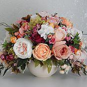 Цветы и флористика handmade. Livemaster - original item Interior composition. Handmade.