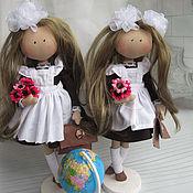 Куклы и игрушки ручной работы. Ярмарка Мастеров - ручная работа Школа любимая моя. Handmade.