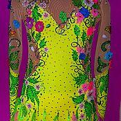 Одежда ручной работы. Ярмарка Мастеров - ручная работа Платье для фигурного катания.. Handmade.