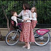 Одежда ручной работы. Ярмарка Мастеров - ручная работа Family look Rose (юбки для мамы и дочки). Handmade.