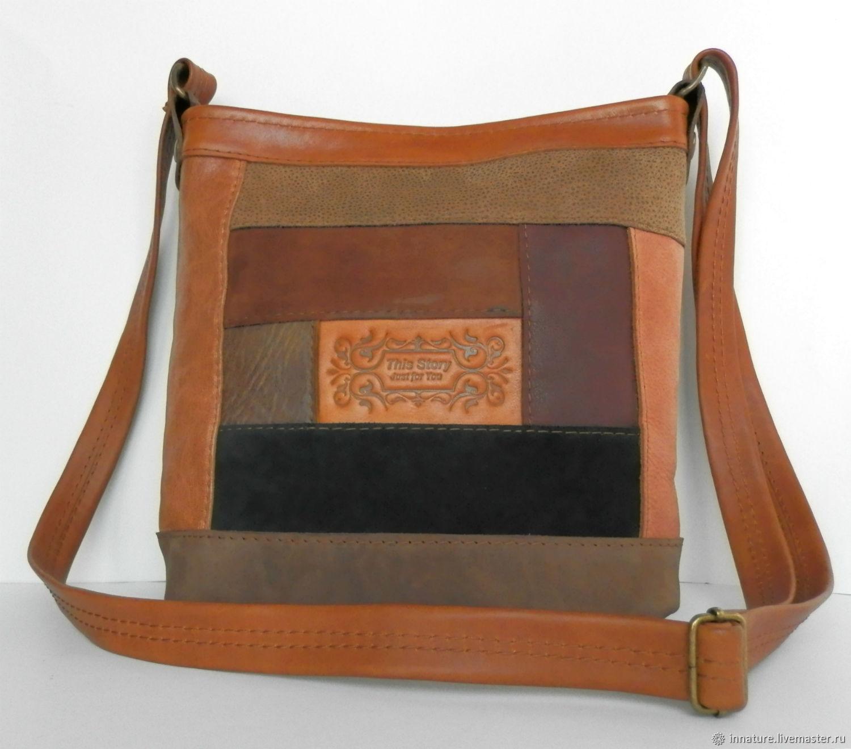 65119de34293 ... Женские сумки ручной работы. Сумка ,натуральная кожа ,пэчворк из кожи ' Old West
