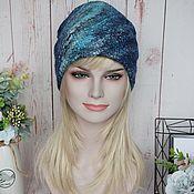 Аксессуары handmade. Livemaster - original item Women`s felted hat.Warm wool felted beanie hat. Handmade.