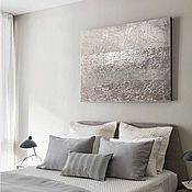 Картины и панно handmade. Livemaster - original item Pictures: Ice wind abstraction
