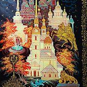 Для дома и интерьера handmade. Livemaster - original item Saint - Petersburg.Lacquer box. Handmade.