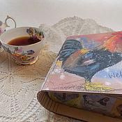 Подарки к праздникам ручной работы. Ярмарка Мастеров - ручная работа чайный короб Простые удовольствия. Handmade.
