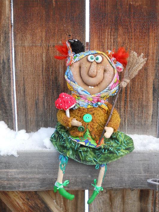 Куклы и игрушки ручной работы. Ярмарка Мастеров - ручная работа. Купить Ягулюшка)). Handmade. Комбинированный, улыбка, надежда шишова