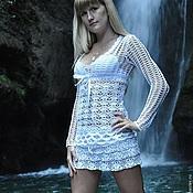 Одежда ручной работы. Ярмарка Мастеров - ручная работа Кофточка и юбка крючком. Handmade.