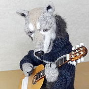 Куклы и игрушки handmade. Livemaster - original item The Romantic Wolf. Handmade.