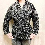 Одежда ручной работы. Ярмарка Мастеров - ручная работа Кардиган из100% шерсти ,,лоден,,макс мара. Handmade.