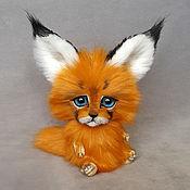 Куклы и игрушки handmade. Livemaster - original item Caracal Meow. Handmade.