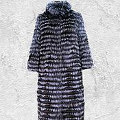 Одежда handmade. Livemaster - original item A coat made of fox fur on cashmere.. Handmade.
