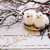 Куклы и игрушки ручной работы. Ярмарка Мастеров - ручная работа Белые голуби. Handmade.