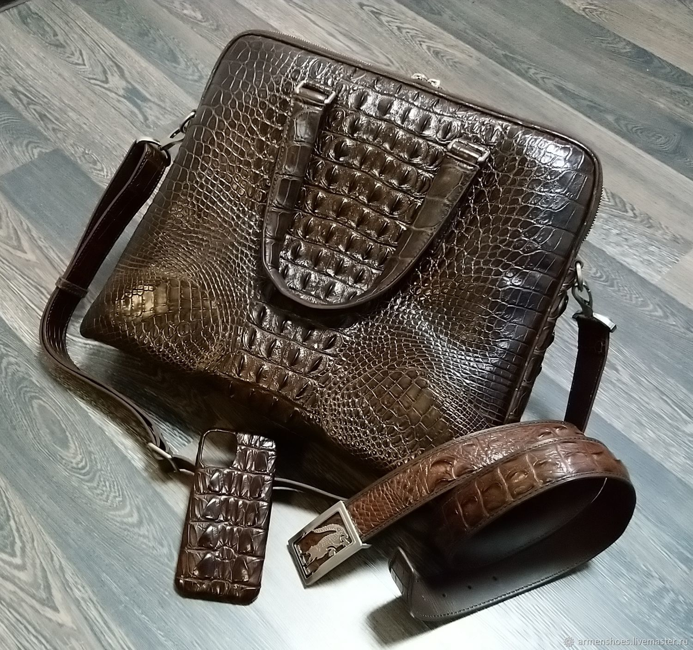 Men's bag, belt, phone case, men's gift set, Men\'s bag, Tosno,  Фото №1