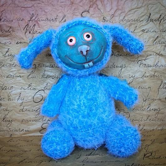 Игрушки животные, ручной работы. Ярмарка Мастеров - ручная работа. Купить Интерьерная игрушка. Интерьерная кукла. Заяц Бруно. Handmade.