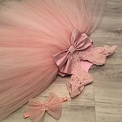 Платья ручной работы. Ярмарка Мастеров - ручная работа Платье детское фатиновое пышное. Handmade.