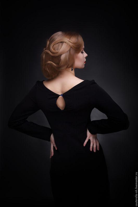 Платья ручной работы. Ярмарка Мастеров - ручная работа. Купить Платье Black. Handmade. Черный, платье в пол, черный цвет