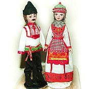 Folk Dolls handmade. Livemaster - original item Chuvash and Chuvash folk porcelain dolls. Handmade.