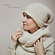 Order Knit set hat and cowl 'ANDES'. Oksana Vladarskaya. Livemaster. . Headwear Sets Фото №3