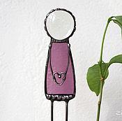 Цветы и флористика ручной работы. Ярмарка Мастеров - ручная работа Хранитель с сердцем. Декор в цветочный горшок. Handmade.
