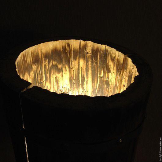 Освещение ручной работы. Ярмарка Мастеров - ручная работа. Купить напольный торшер из дерева. Handmade. Ночник, светильник из дерева, бук
