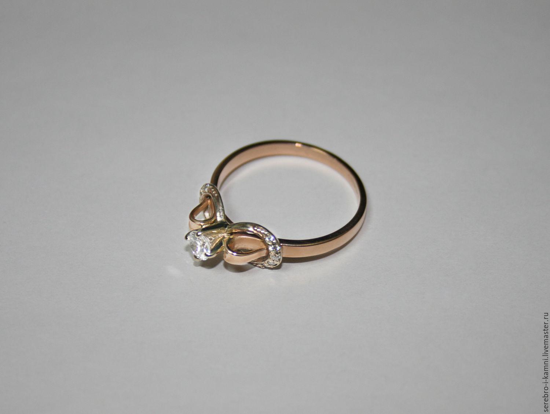 Serebro-i · Кольца ручной работы. золотое кольцо Бесконечность (золото 585). 33325ea9a7f28