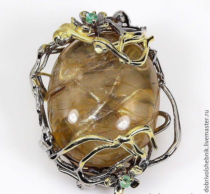 Large pendant Ariadna silver, Pendants, Novaya Usman,  Фото №1
