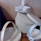 Свадебный салон ручной работы. Ярмарка Мастеров - ручная работа Свадебные корзины, набор. Handmade.