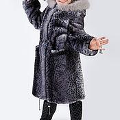 Одежда handmade. Livemaster - original item Girl`s coat from natural fur. Handmade.