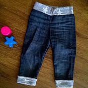 Работы для детей, ручной работы. Ярмарка Мастеров - ручная работа джинсы. Handmade.