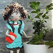 Куклы и игрушки ручной работы. Ярмарка Мастеров - ручная работа Коко. Каркасная кукла.. Handmade.