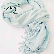 Аксессуары handmade. Livemaster - original item Stole mint cotton 100. Handmade.