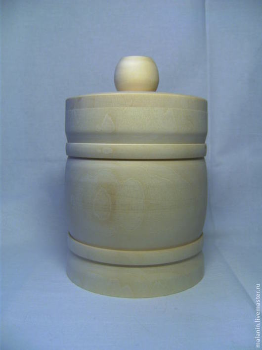 Посуда ручной работы. Ярмарка Мастеров - ручная работа. Купить Бочонок под мёд. Handmade. Белый, бочонок для меда, липа