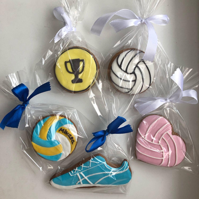 Волейбол, набор пряников в подарок волейболисту, Пряники, Тверь,  Фото №1