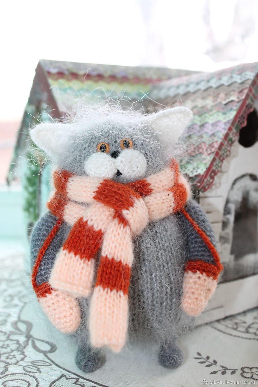Пушистый кот, Мягкие игрушки, Ульяновск,  Фото №1